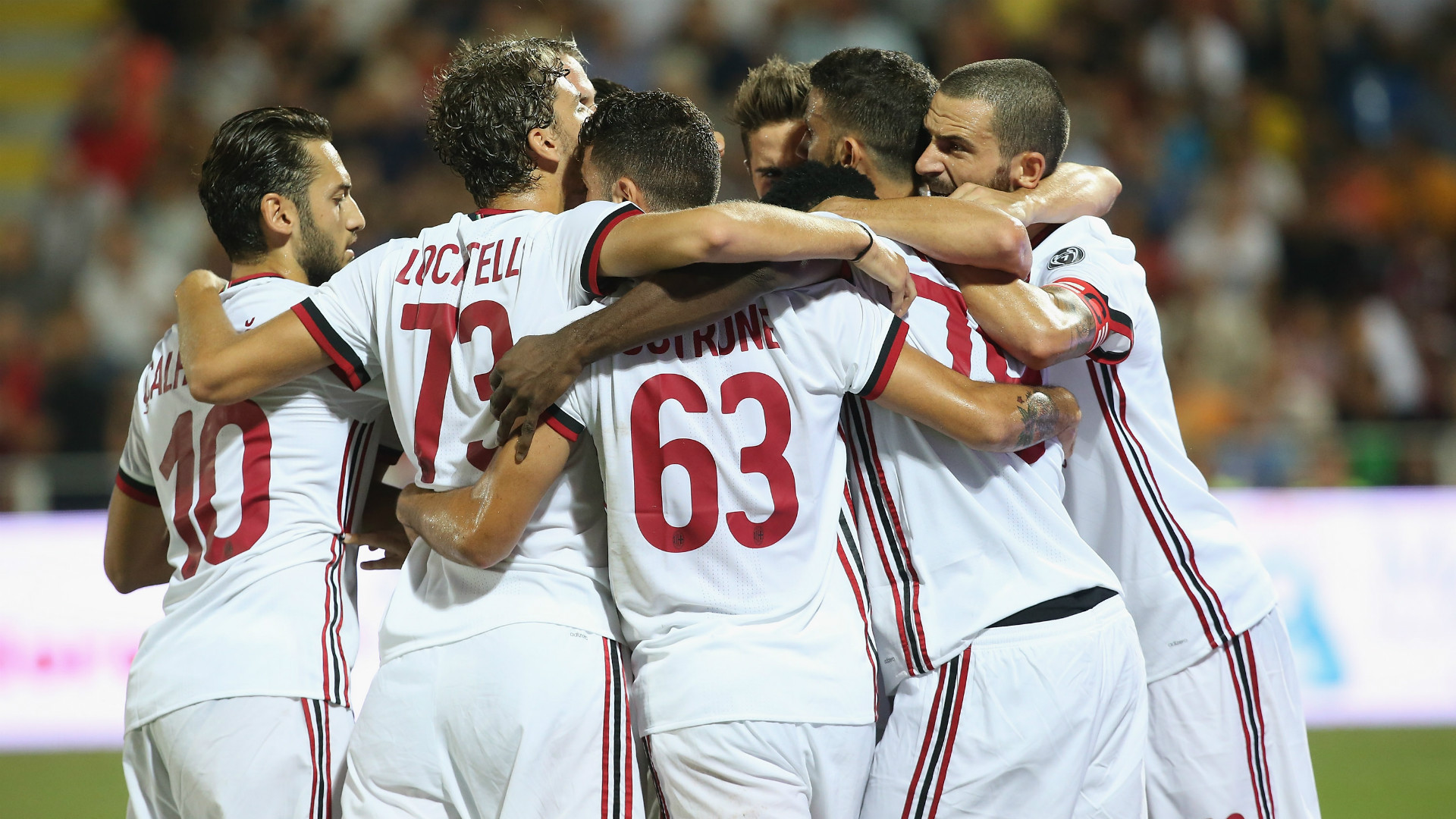 C'è lo Shkendija, Montella vara un nuovo Milan:
