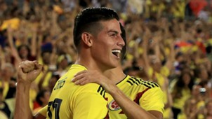 James Rodriguez Colombia USA 11102018