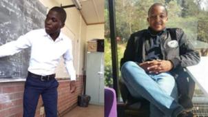 Simangaliso Mdluli and Nyameko Radebe
