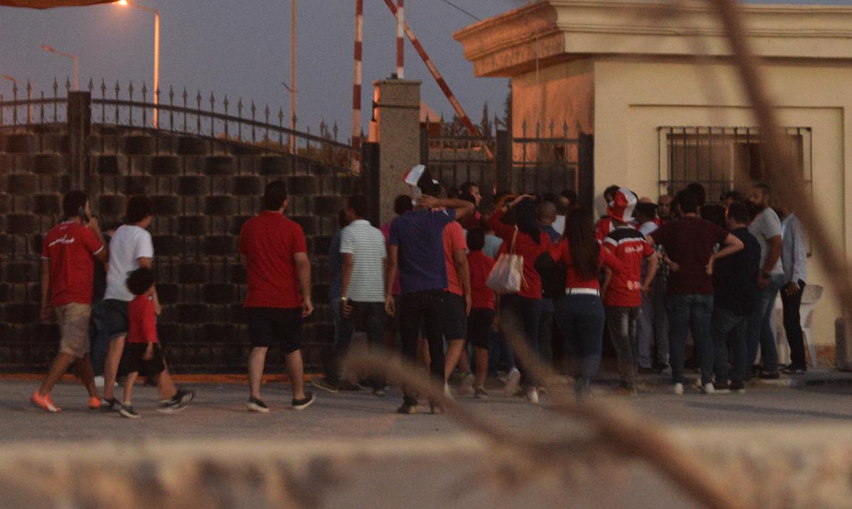 Egypt V Congo -fans. Goal.com/ar (MahmoudMaher)