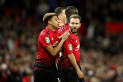 Juan Mata Manchester United Derby County Carabao Cup 25092018