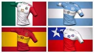 Camisetas banderas