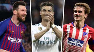 Lionel Messi Cristiano Ronaldo Antoine Griezmann