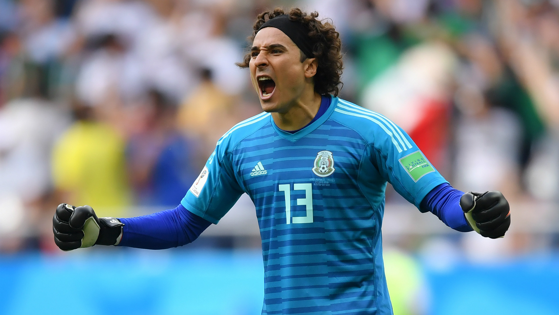 Mexico national team goalkeeper guillermo ochoa sets - Guillermo ochoa wallpaper ...