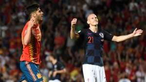 Marco Asensio España Croacia Spain Croatia UEFA Nations League 11092018