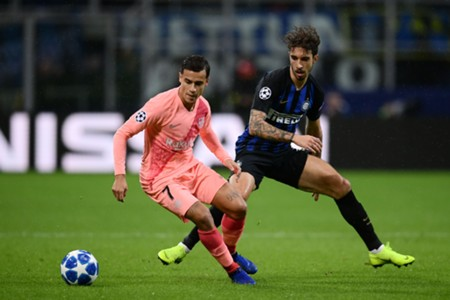 COUTINHO BARCELONA INTER CHAMPIONS LEAGUE