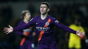 Phil Foden Manchester City Oxford League Cup 25092018
