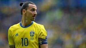 Zlatan Ibrahimovic Sweden Euro 2016