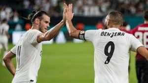 Bale Benzema Real Madrid 14 08 2018