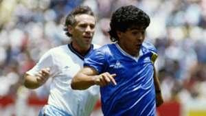 Peter Reid Diego Maradona