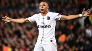 Kylian Mbappe Manchester United PSG Champions League 12022019