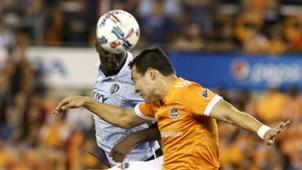 Erick Torres Ike Opara Houston Dynamo Sporting Kansas City MLS playoffs