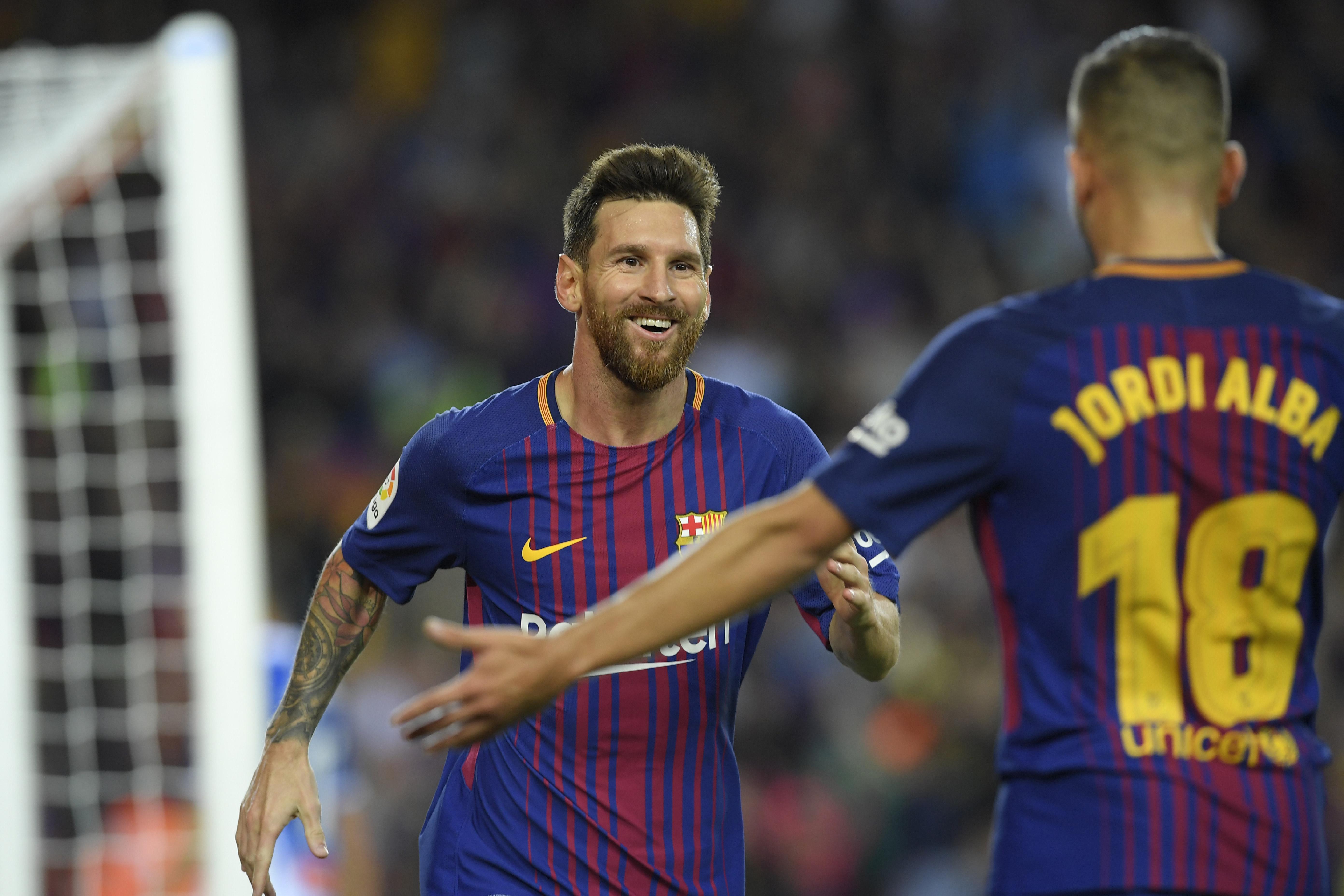 Messi Jordi Alba