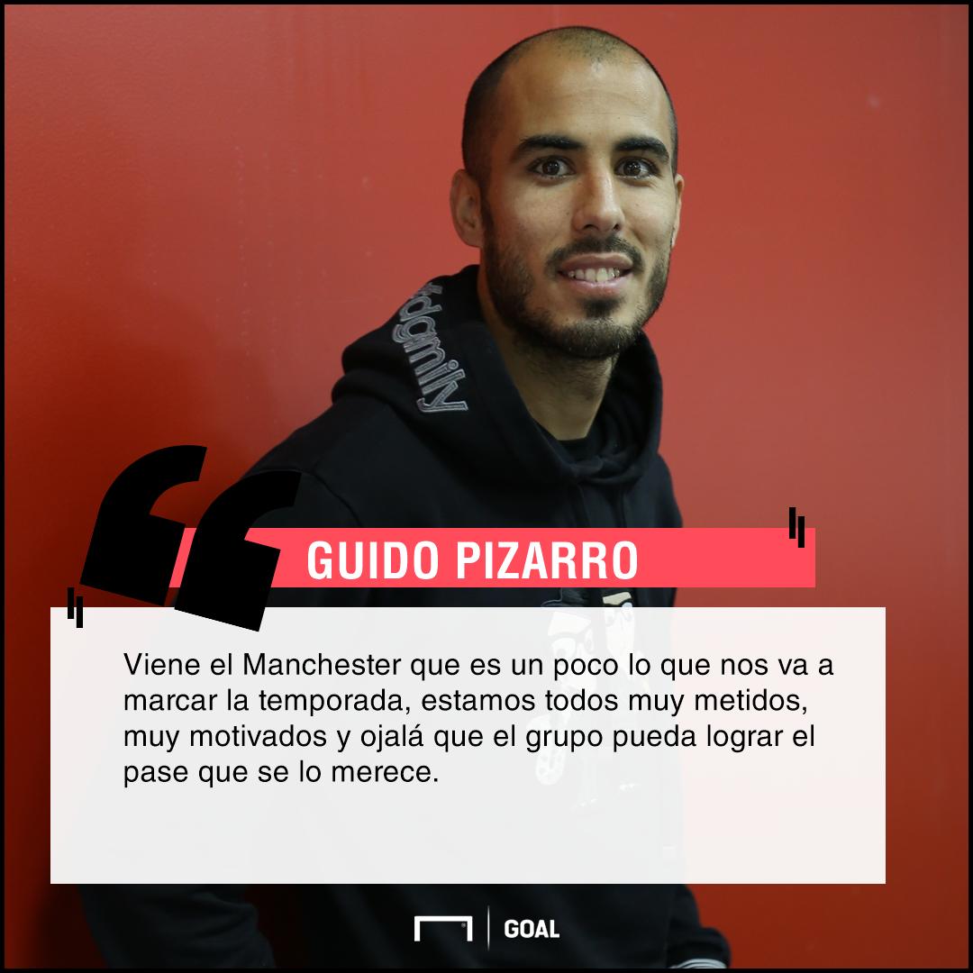 Pizarro sobre el United
