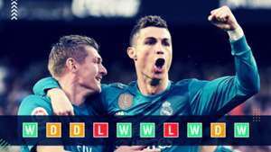 Real Madrid Champions League Power Ranking GFX
