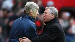 Arsene Wenger Sir Alex Ferguson