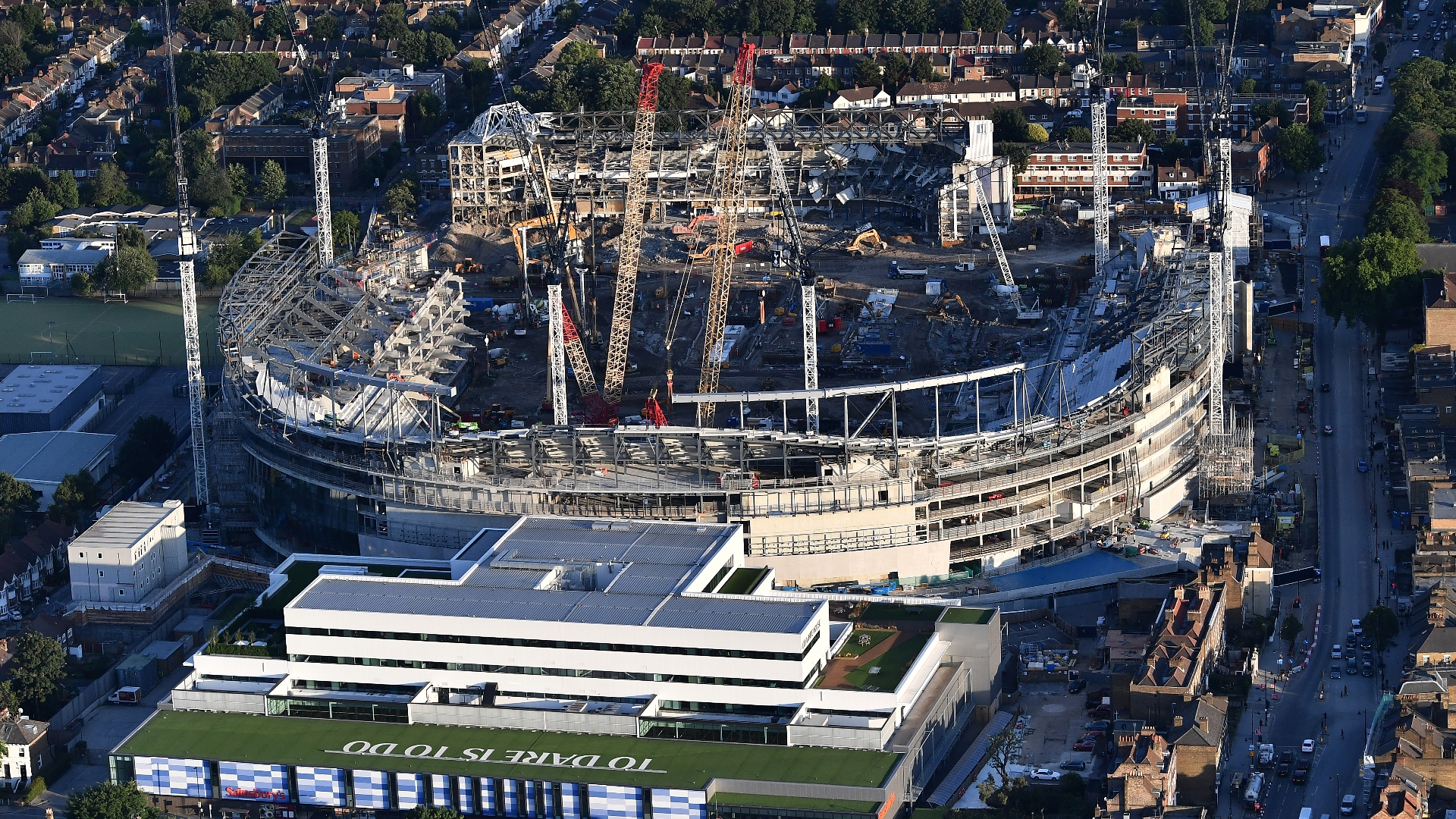 White Hart Lane delay as Spurs extend Wembley stay