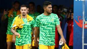 Jamie Maclaren Massimo Luongo Socceroos