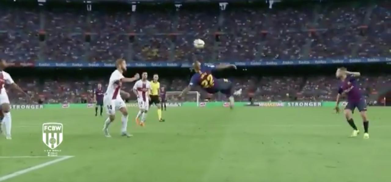Arturo Vidal 2 Barcelona Alavés
