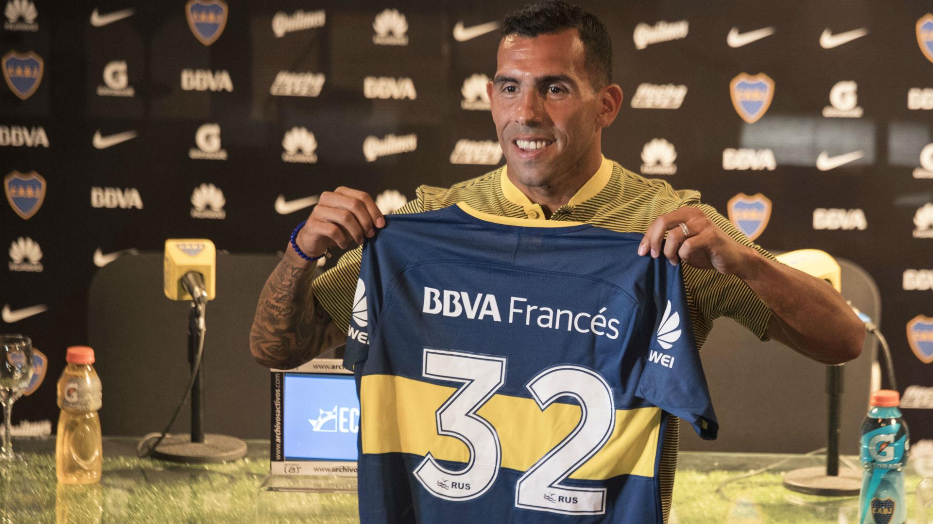 Carlos Tevez Boca 09012018