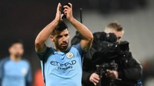 Sergio Aguero Manchester City 2017