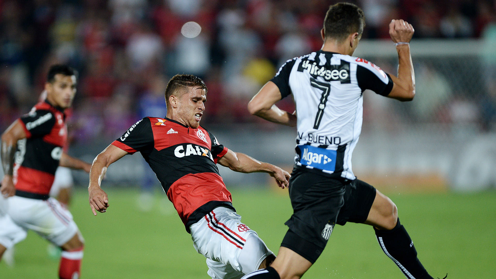 Gustavo Cuellar Vitor Bueno Flamengo Santos Copa do Brasil 28062017