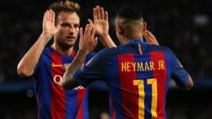 Ivan Rakitic Neymar FC Barcelona 19102016