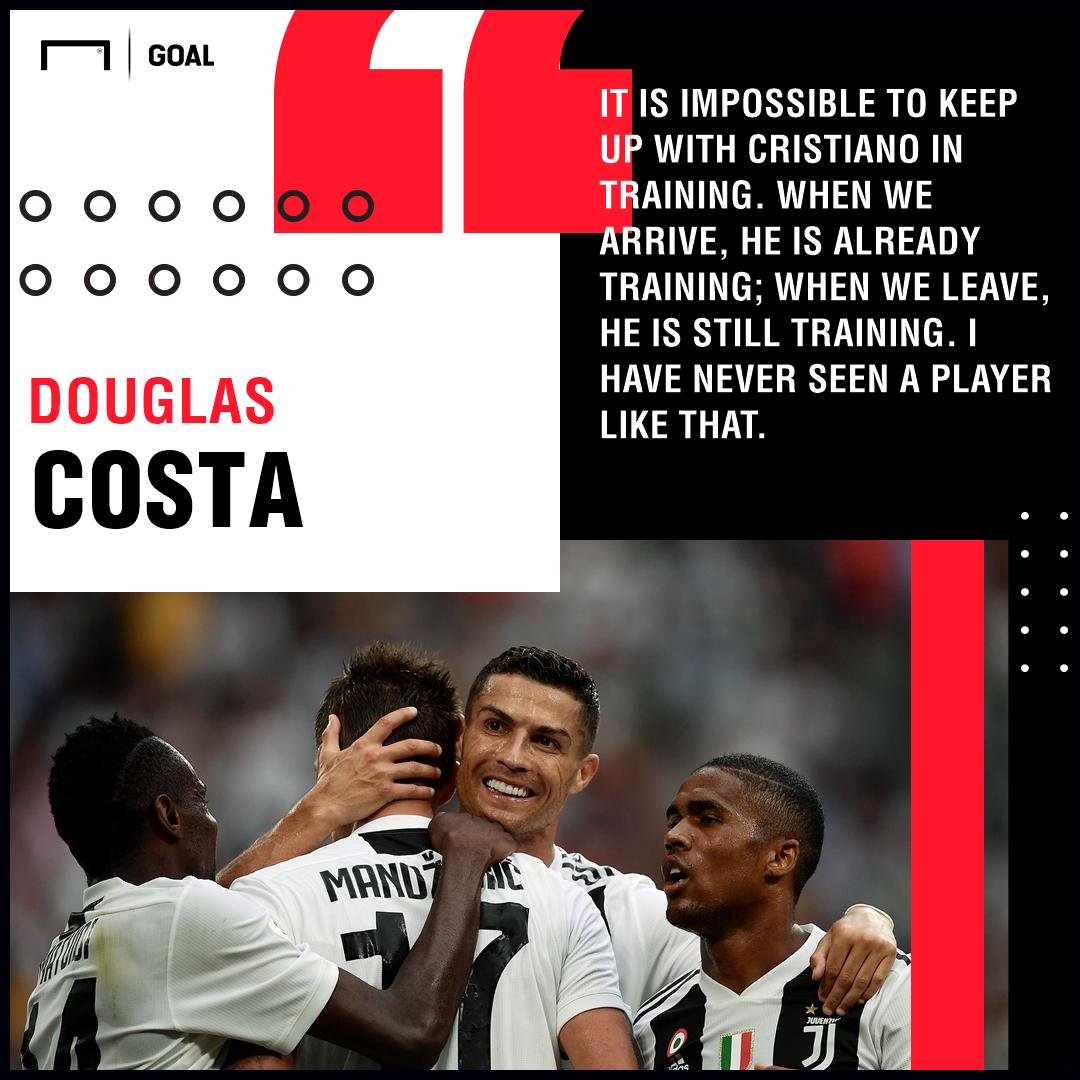 Cristiano Ronaldo Douglas Costa Juventus PS