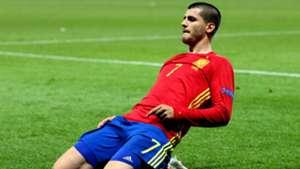 Alvaro Morata Spain Euro 2016