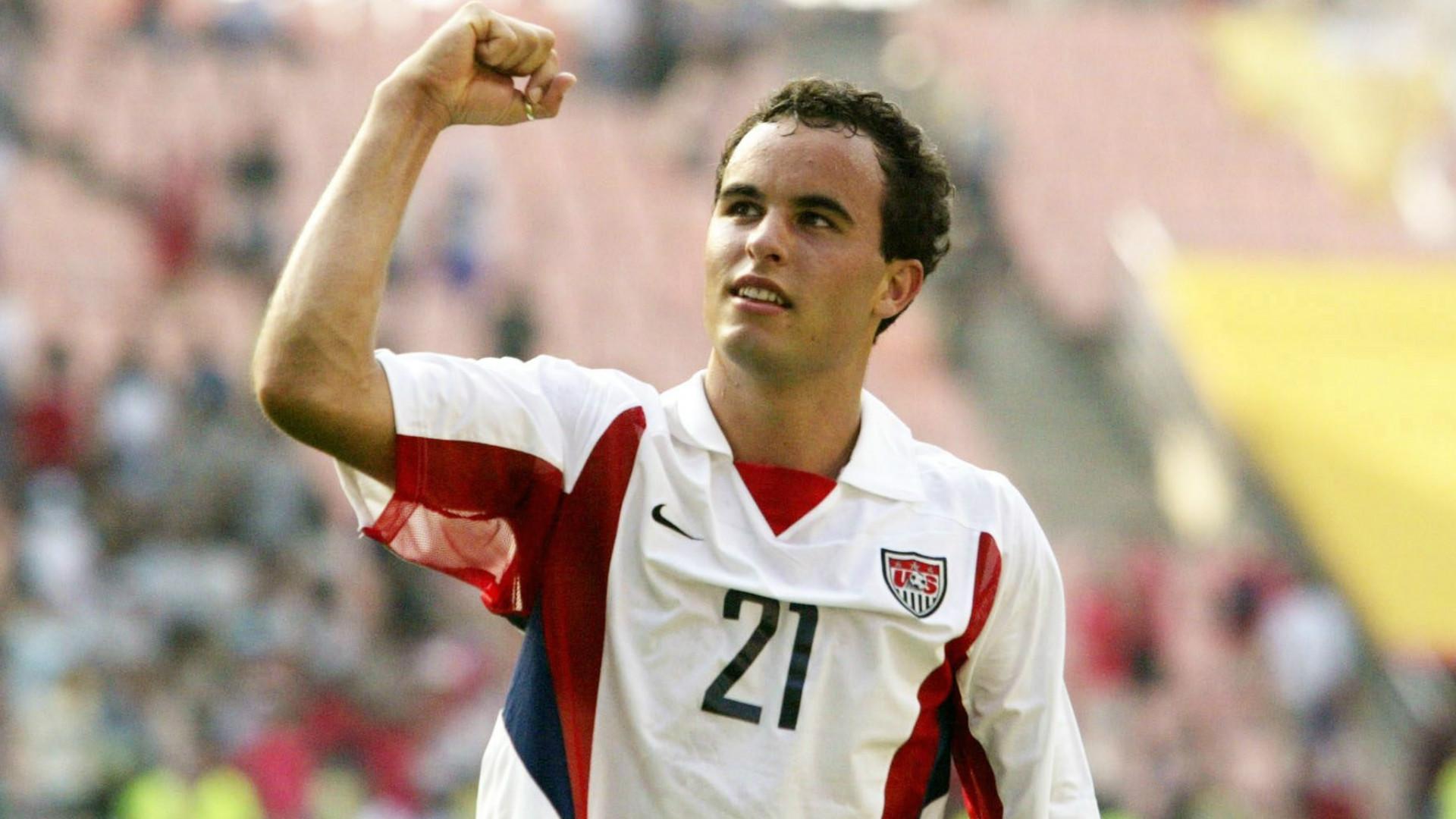 Landon Donovan Estados Unidos Copa del Mundo 2002