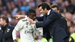 Vinicius Junior Solari Real Madrid 04 11 2018
