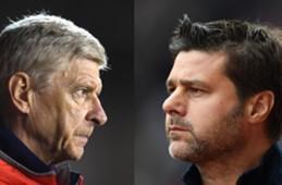 Arsene Wenger vs Maurizio Pochettino