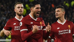 EMRE CAN LIVERPOOL PREMIER LEAGUE 30012018