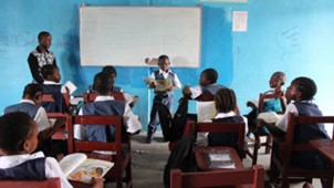 Prince 3rd grade Monrovia Academy