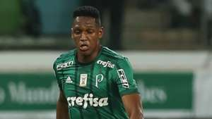 Yerry Mina Palmeiras Cruzeiro Copa do Brasil 28062017