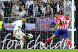 Diego Costa goal Real Madrid vs Atletico Madrid UEFA Super Cup 2018