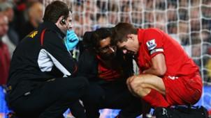 Steven Gerrard Liverpool 11112012