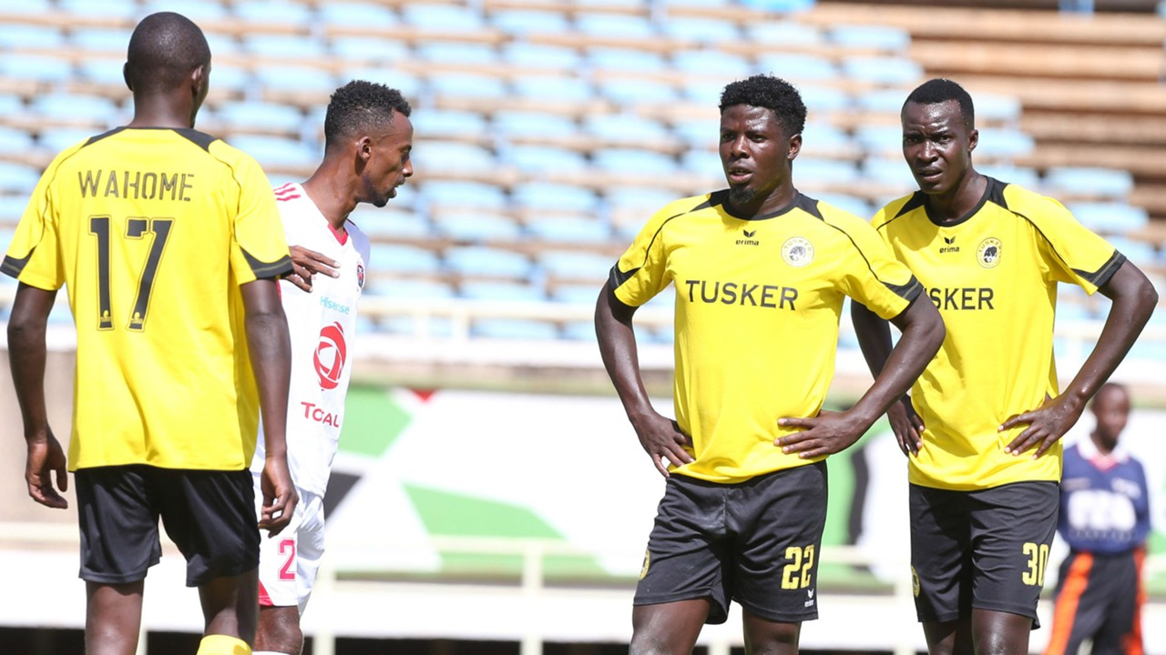 Allan Wanga and Humphrey Mieno dissapointed with outcome