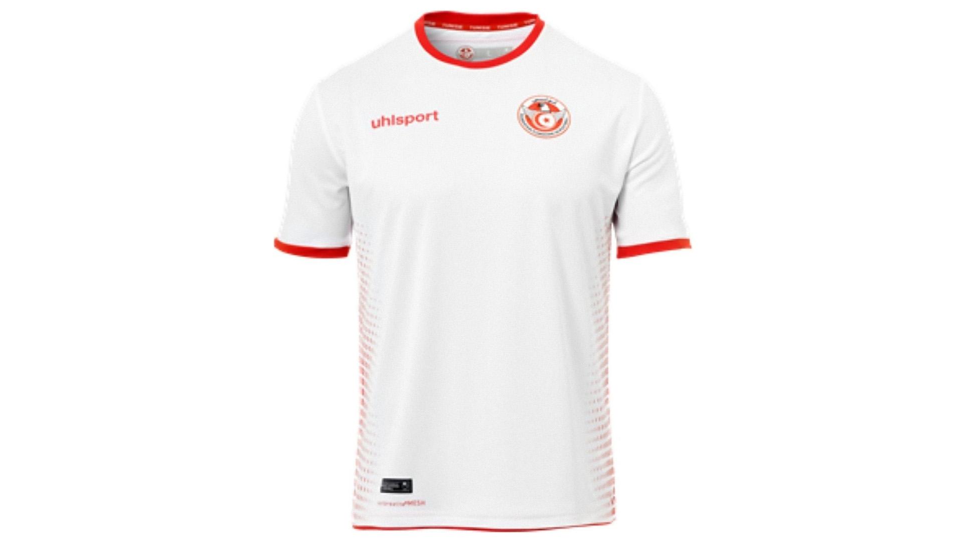 Tunez Camiseta Titular 2018 Tunisia Home Kit