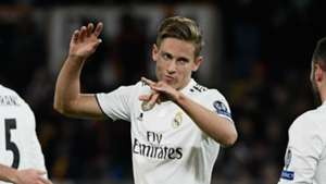 Marcos Llorente Real Madrid 2018-19