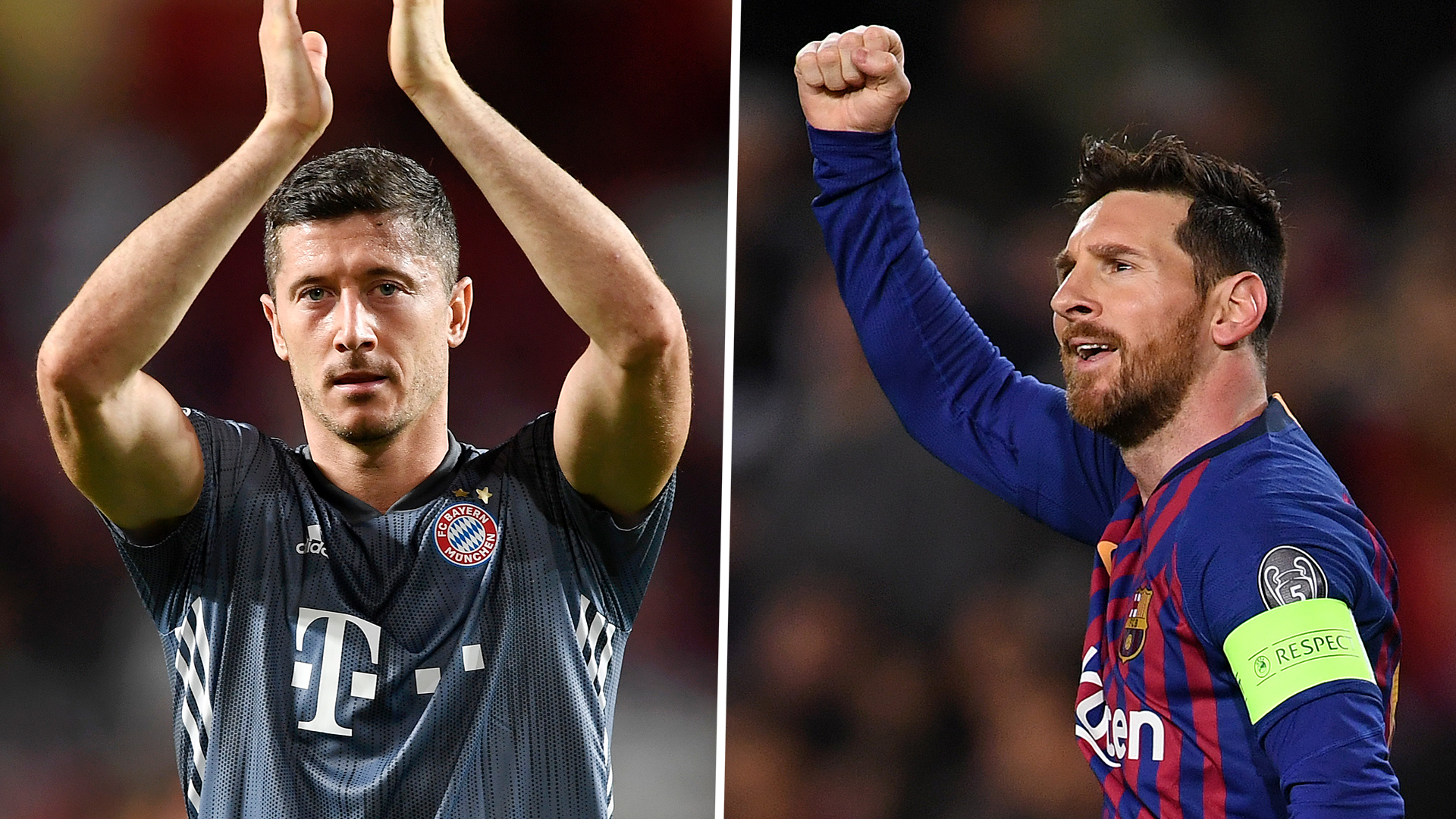 Champions League top scorers 2018-19: Lionel Messi, Robert
