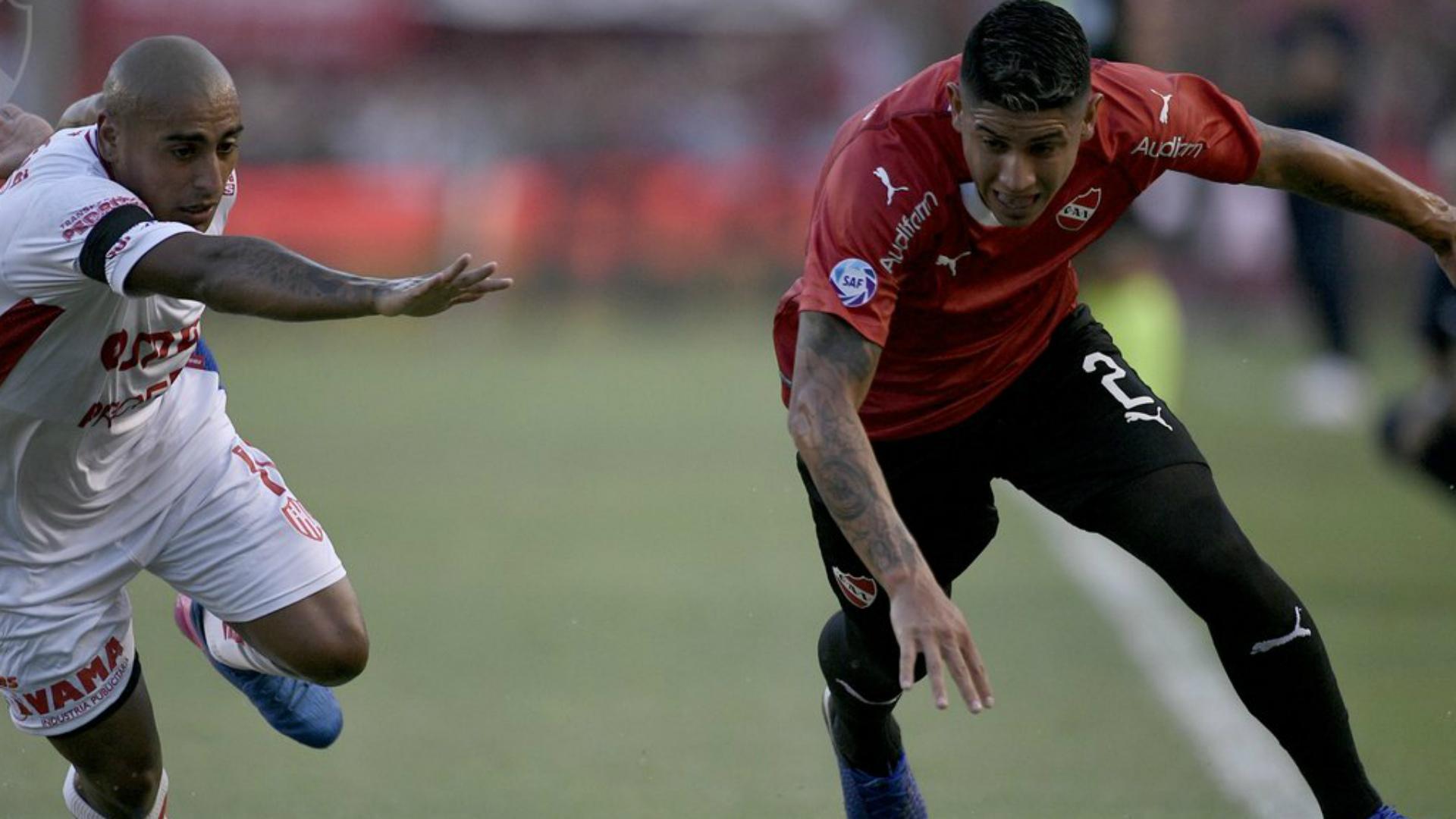 Diego Zabala Alan Franco Independiente Union Superliga 09022019