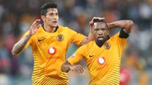Leonardo Castro and Bernard Parker March 2019 Kaizer Chiefs