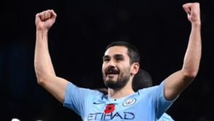 Ilkay Gundogan Manchester City vs Manchester United Premier League 2018-19