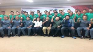 Pelepasan Timnas Indonesia U-19