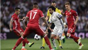Marcelo Real Madrid Bayern Champions League 18 04 2017