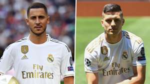 Eden Hazard Luka Jovic Real Madrid
