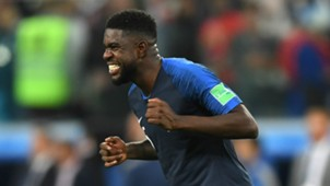 France Belgium World Cup 2018 Samuel Umtiti