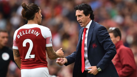 Hector Bellerin Unai Emery Arsenal