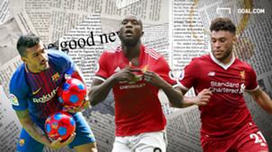 Paulinho Romelu Lukaku Alex Oxlade Chamberlain